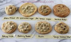 Customize your chocolate chip cookies.