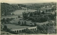A View from Brassknocker Hill, Monkton Combe c.1939