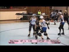 Victorian Roller Derby League had some excellent backwards blocking in their game against Bay Area Derby Girls. Roller Derby Drills, Roller Derby Skates, Roller Skating, Derby Time, Surfing Tips, Demolition Derby, Girls Life, Train Hard, Cross Training
