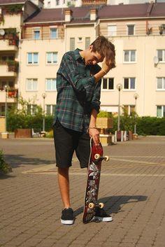 Ralph Lauren Shirt, Vans Shoes, Dc Pants