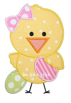 Easter Chick 2 Applique