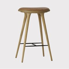High Stool - Soaped oak