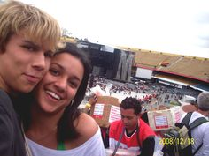 On 18th of december 2008 I attended The Sticky and Sweet Tour at the grandstand of Morumbi stadium, together with my Family .