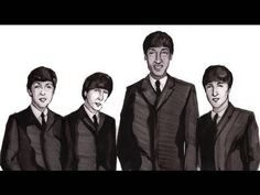 Beatles 3000 -'The Beatles' historically painted much like the history of Egypt is now fashioned
