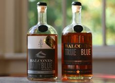 Balcones Distillery: Baby Blue and True Blue Corn Whiskey