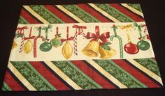 Christmas At Home, South Sea Imports, Placemats. $18.95, via Etsy.