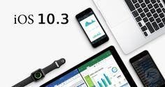 نسخه نهایی iOS 10.3 عرضه شد