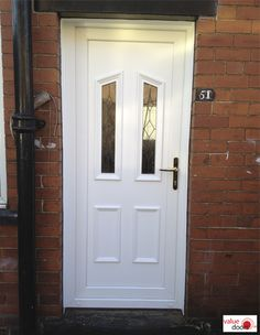 If you're wanting the cheapest uPVC Doors fitted, you'll want to get uPVC Doors supplied and fitted in White. Click below to see our uPVC Doors fitted price. Upvc Porches, Doors Online, Composite Door, White Doors, Back Doors, Tall Cabinet Storage, Home Decor, Decoration Home, Room Decor