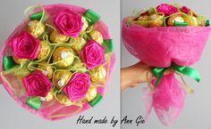 Sweet ferrero rocher bouquet