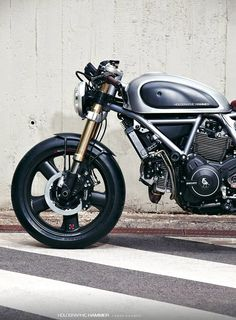 Holographic Hammer Ducati Scrambler