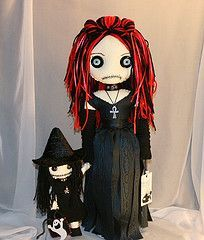more ideas for a goth doll