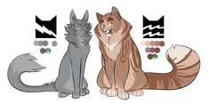 """phobic-art: """" """"'Maybe if they both become leader we could be deputies together,' Crookedpaw mewed politely. Bluepaw frowned. 'Deputy? I want to be leader!'"""" Yeah, I've been rereading Crookedstar's..."""