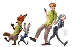 human version drawings of zootopia characters Zootopia Human, Zootopia Anime, Zootopia Characters, Disney Characters, Disney E Dreamworks, Disney Movies, Disney Pixar, Humanized Disney, Disney Fan Art