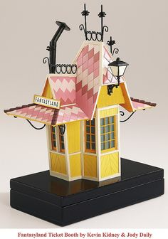 Disneyland Fantasyland Ticket Booth Replica 1955