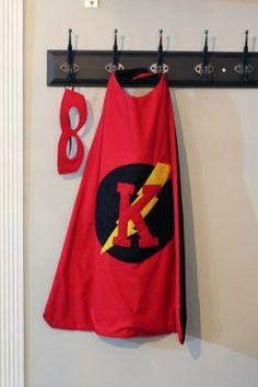 DIY Superhero Cape + Mask