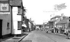 Barnstaple, Newport Road c1960