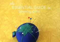 Learn to use the right shape, size & type of pin for all your sewing projects with this handy guide to different types of sewing pins on the Craftsy Blog.