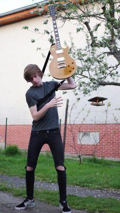 guitar flip..