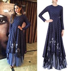 Raveena Tandon is keeping her summer stylish in this easy chic ensemble by Label Debashri Samanta #getthelook #celebstyle #celebcloset #bollywood #raveenatandon #debashrisamanta #perniaspopupshop #shopnow