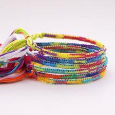 Tie Dye Friendship bracelets tie-dye-party-inspiration-board