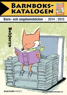 Barnbokskatalogen 2014. Illustration: VV2. Grafisk form: Anders Magnusson.