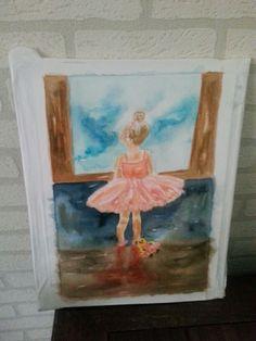 In aquarel