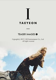 150930 SNSD Taeyeon Solo Album 《I》teasers image from taeyeon.smtown.com