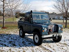 Series 2 Land Rover, Land Rovers, Land Rover Defender, Range Rover, Military Vehicles, Ww2, Cool Cars, Cool Photos, Restoration