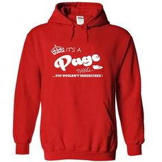 Its a Page Thing, You Wouldnt Understand !! Name, Hoodi - #college gift #thoughtful gift. LIMITED TIME => https://www.sunfrog.com/Names/Its-a-Page-Thing-You-Wouldnt-Understand-Name-Hoodie-t-shirt-hoodies-9079-Red-29526722-Hoodie.html?id=60505