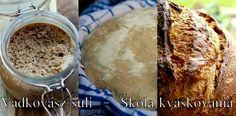 Vadkovászsuli: Tortilla kovásszal - Tortila s kváskom Sourdough Bread, Sugar, Breads, Hampers, Braided Pigtails, Buns, Bread