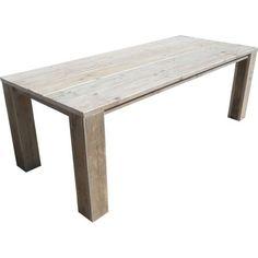 Tafel steigerhout blokpoot |Steigerhoutstunter