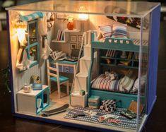 DIY warme Zimmer Miniatur Handcraft Kit Geburtstag von UniTime