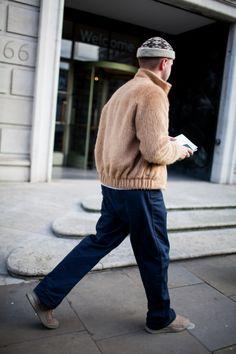 英国紳士の街にもストリートの波 2017-18年秋冬ロンドン・メンズ・ファッション・ウイーク ストリートスナップ   WWD JAPAN.com