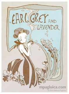 Earl Grey and Lavender by DarkSunRose