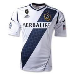New 2012/13 Los Angeles Galaxy Home #soccer #football shirt jersey kit #LAGalaxy #sports