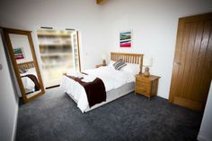 Spacious, modern and private bedrooms are suitable for any member of the family, except perhaps the dog.