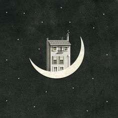 The perfect Moon HouseOnTheMoon Animated GIF for your conversation. Discover and Share the best GIFs on Tenor. Gifs, Wallpaper Animes, Over The Moon, Love Art, Animated Gif, Illustration Art, Images, Sketches, Drawings