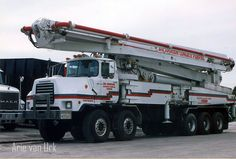 Mack concrete pumper West Palm Beach Florida