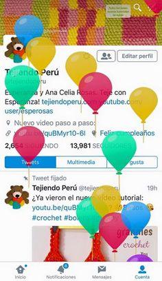 ¡Hoy es nuestro cumpleaños!  Gracia a su compañía y cariño hoy Tejiendo Perú cumple 7 años :) GRACIAS!
