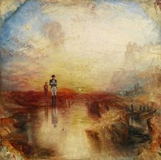The Exile and the Rock Limpet', Joseph Mallord William Turner, exhibited 1842 Joseph Mallord William Turner, Covent Garden, The Rock, Turner Painting, Art Gallery Of Ontario, Tate Gallery, Artist Gallery, English Artists, Expositions
