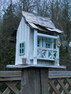 rustic old bird house