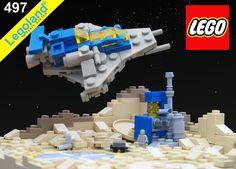 mini classic space lego