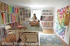 Anna Maria Horner  Where Women Create Nov/Dec/Jan 2015, Volume 7, Issue 1