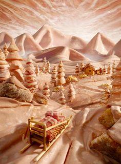 Foodscapes, les paysages en nourriture de Carl Warner
