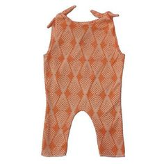 Young & Free Apricot Tie Romper
