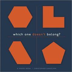 Which One Doesn't Belong?: A Shapes Book: Amazon.de: Christopher Danielson: Fremdsprachige Bücher