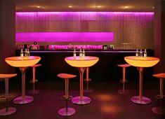 Table Lounge variation 105 cm version Led RGB