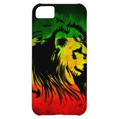 Reggae Rasta Lion iPhone 5C Covers
