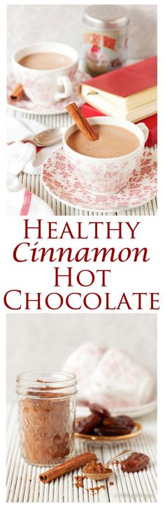 Healthy Cinnamon Hot Chocolate is a wholesome but utterly rich & decadent drink. Sweetened naturally and with a hint of spice this hot chocolate is sure to please the entire family. Make up a batch and keep it in the fridge ready for when your sweet tooth calls on you.