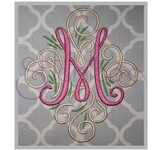 """Adorn Monogram Set - 7"""" 8"""" 